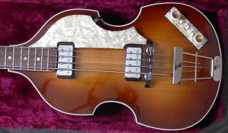 1964 Hofner 500/1 Beatles Bass Original Excellent!!