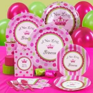 New Little Princess Baby Shower Deluxe Party Pack