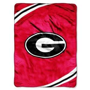 NCAA Georgia Bulldogs FORCE 60x80 Super Plush Throw