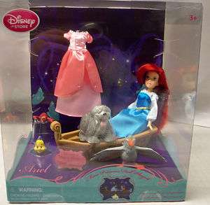 DISNEY PRINCESS ARIEL DOLL MINI MAGICAL MOMENT PLAYSET NEW PACKAGE