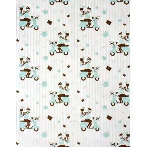 lucky vespa girl designer holiday gift wrap paper limited edition