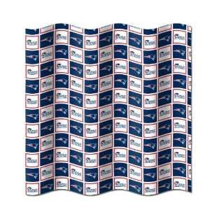 New England Patriots Fabric Shower Curtain 72x72