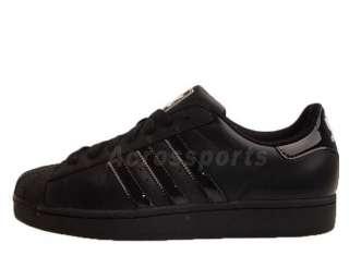 Adidas Originals Superstar II SS 2 Black 2012 Classic Mens Casual