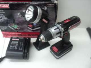 Craftsman 16.0 Volt Drill/Driver Lithium Ion # 11820