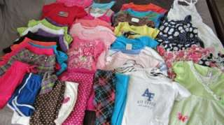 HUGE 35+ LOT GIRLS SPRING/SUMMER CLOTHES size 7/8 and 10/12