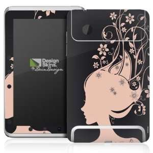 Design Skins for HTC Flyer   Rosa Blumen Design Folie