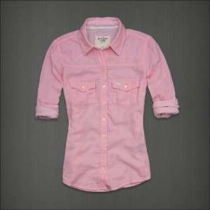NWT Hollister Abercrombie & Fitch Women Shirt Long Sleeve Top S M L