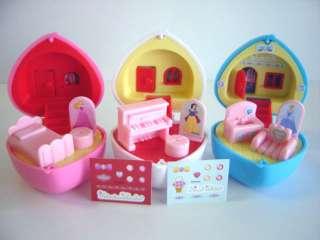 Disney Princess Mini Pocket Doll Room Aladdin Jasmine
