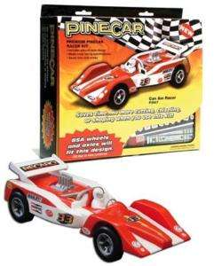 Pine Car #p3947   Pinewood Derby Can Am Racer Kit