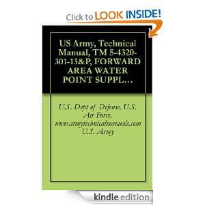 Army, Technical Manual, TM 5 4320 301 13&P, FORWARD AREA WATER POINT