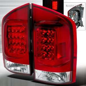NISSAN ARMADA SE LE SPORT UTILITY LED RED/CLEAR TAIL LIGHTS