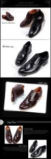 New Mens Dress Leather Shoes Formal Lace up Oxfords Casual Black Brown