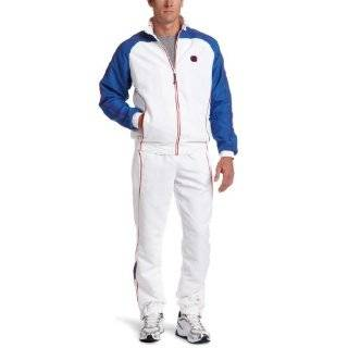 Asics Tennis Warm Up Suit Clothing