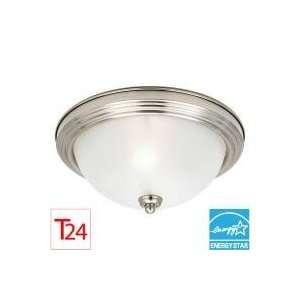Sea Gull Lighting 79264BLE Sussex 1   Light Flush Mount   Energy Star