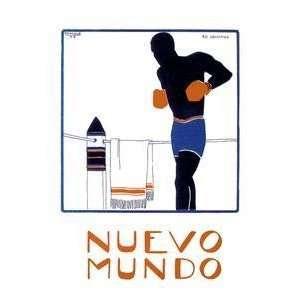 Vintage Art Nuevo Mundo   04631 7