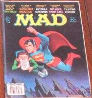 MAD MAGAZINE 208 JULY 1979 SUPERMAN ALFRED E NEWMAN F+