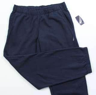 New Mens Sweat Pants Nautica S M L XL XXL 2XL NWT Dark Navy Blue