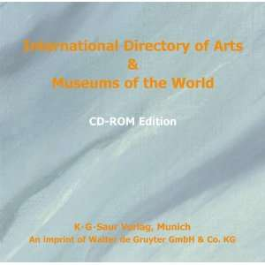 Museums of the World (International Directory of Arts & Museums (CD