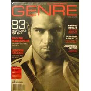 Genre Magazine (September, 2003) staff Books