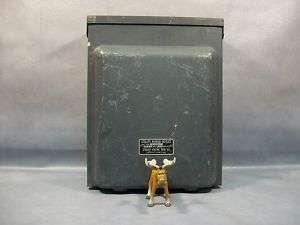 Midwest Electric P 1004 F RV Camper Utility Box 100 Amp