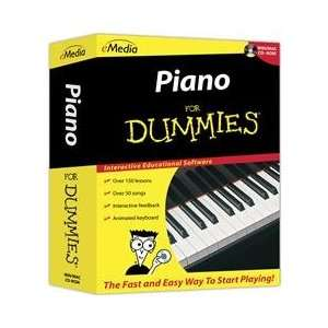 Emedia Music Corp Piano For Dummies 150 Step By Step Video