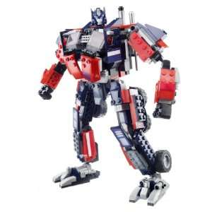 Transformers Kre O Optimus Prime & Trailer With Twin