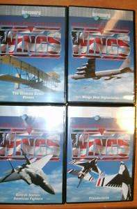 Discovery Channel Wings American Pride Collection 4 DVD