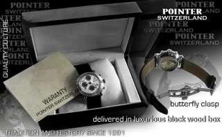 POINTER SWITZERLAND, AUTOMATIC CHRONO, VALJOUX 7750, MODEL MAGIC