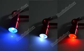 New Dog Cat Pet Safety Flash LED Light Collar Tag Red