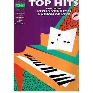 Easy Piano Solos   Top Hits Featuring Lost in Your Eyes and Vision of