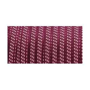 May Arts Woven Ribbon 1/8X100 Yards Burgandy/Pink Arts