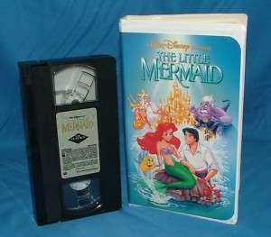The Little Mermaid SENSORED COVER,RARE 1ST ISSUE LABEL 012257913033