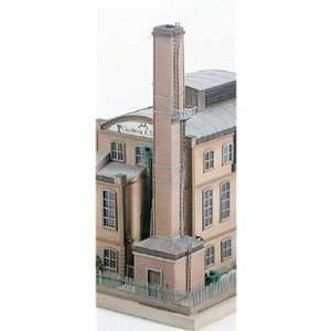 FACTORY CHIMNEY   PIKO HO SCALE MODEL TRAIN BUILDING 61118