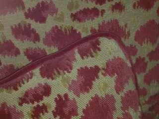Brunschwig & Fils Velvet Fabric Custom Designer Throw Pillows Red New