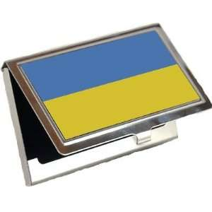 Ukraine Flag Business Card Holder