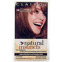 Natural Instincts #18 Pecan Hair Color (Pack of 4)