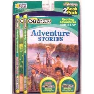 com Active Pad Adventures & Animals 2 Piece Set of Interactive Books