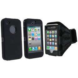 Otterbox Apple iPhone 4 Defender Case/ Black Deluxe ArmBand