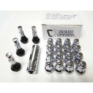 Colorado Components DF 54125S Chrome Atv wheel installation kit (12mm