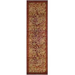 Lyndhurst Collection Paisley Red/ Multi Runner (23 x 12)
