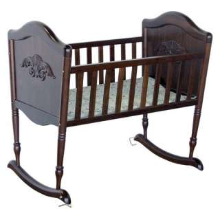 DaVinci Chloe Rocking Cradle in Espresso: Furniture
