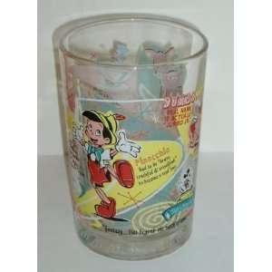 Disney 100 years of Magic McDonalds Round Glass Marked USA