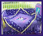 New Crib Bedding Set POLKA DOTS Zebra HOT PINK fabrics items in Kustom