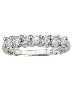 14k White Gold 1/2ct Round Diamond Wedding Ring (G H/ I1 I2