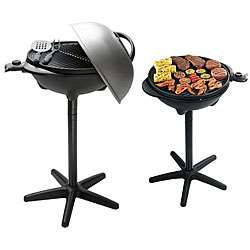 Foreman GGR50B Indoor/ Outdoor Electric Barbecue Grill