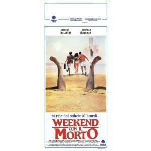 Weekend at Bernies Movie Poster (13 x 28 Inches   34cm x