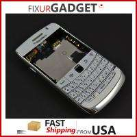 White OEM Blackberry Bold 9700 Full Housing Case Keypad +Parts