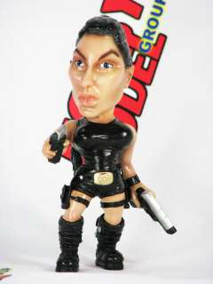 LARA CROFT TOMB RAIDER FUNNY PAINTED RESIN MODEL FIGURE