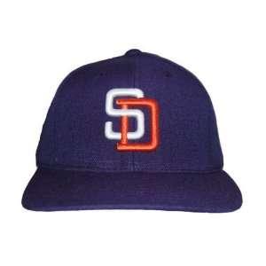 Puma MLB San Diego Padres Snapback Hat Cap   Navy Blue