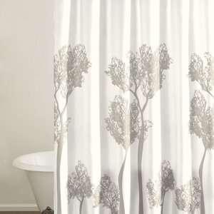 City Scene Tree Top Shower Curtain: Bath